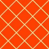 Orange seamless ceramic tiles royalty free illustration