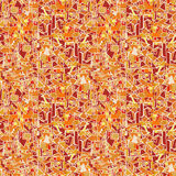 Orange seamless geometric abcract vector background texture Royalty Free Stock Image