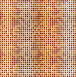 Orange seamless mosaic Stock Photos