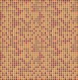 Orange seamless mosaic Stock Photos