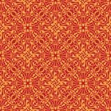 Orange seamless pattern Royalty Free Stock Photography