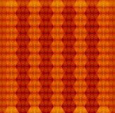 Orange seamless texture. Vector background Stock Photography
