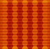 Orange seamless texture. Vector background Stock Photography