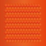 Orange seamless weave fabric pattern background Stock Image