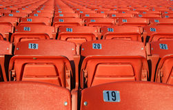 Orange Seats Stock Photos