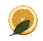 Orange section Stock Photo