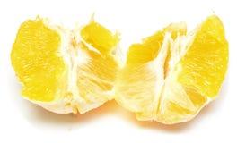 Orange segment Royalty Free Stock Image