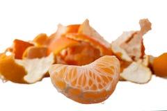 Orange Segment Stockfoto