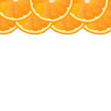 Orange Segment Border Stock Photos