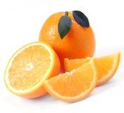 Orange with segments Stock Image