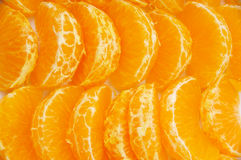 Orange segments Royalty Free Stock Image