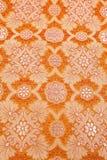 Orange seidiges Hintergrundtuch Lizenzfreie Stockbilder
