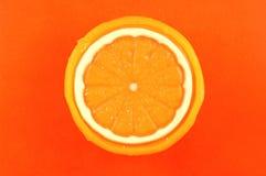 Orange Seife stockfotos
