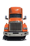 Orange Semi Cab Stock Image
