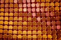 orange sequins Royaltyfri Foto