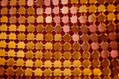 Orange sequins Royalty Free Stock Photo