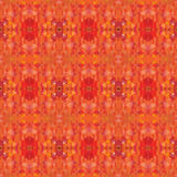 Orange shade polygon seamless background Stock Photos