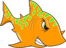 Orange Shark Vector Stock Photos