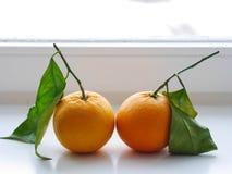Orange sheets Stock Photo