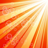 Orange shiny background Royalty Free Stock Photo