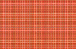orange shiny tile wall. Seamless texture and  pattern for backgr Royalty Free Stock Images