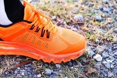 Orange Shoe Royalty Free Stock Photo