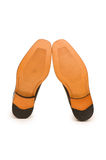 Orange shoes isolated Royalty Free Stock Photos