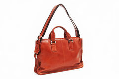 Orange Shoulder bag Stock Image