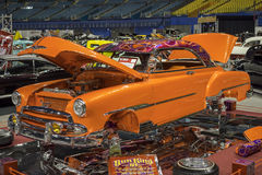 Orange show car Royalty Free Stock Photos