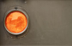An orange side light Stock Image