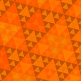 Orange Sierpinski Pattern Stock Images