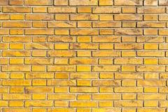 Orange silberner schmutziger Backsteinmauer-Stadt-Straßen-Italien-Rot-Hintergrund Lizenzfreie Stockfotos