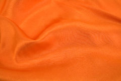 orange silk Arkivfoto