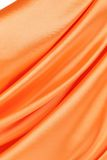 Orange silk background. Royalty Free Stock Photos