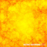 Orange simple circle shape modern geometrical abstract background. Stock Photo