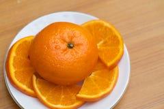 Orange singel Fotografering för Bildbyråer