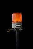Orange siren för nöd- bil Royaltyfri Foto