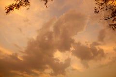 Orange Skies Stock Photos