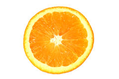 orange skiva royaltyfria foton