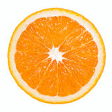 Orange skiva Arkivfoton