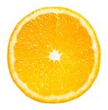 orange skiva royaltyfri foto