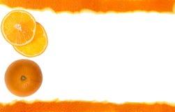 orange skiva royaltyfri fotografi
