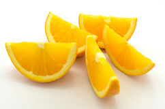 Orange skiva Royaltyfri Bild