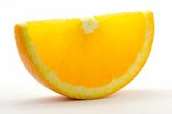 Orange skiva Arkivbilder