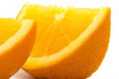 Orange skiva Royaltyfria Bilder