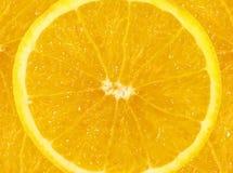 orange skiva för bakgrund Royaltyfria Foton