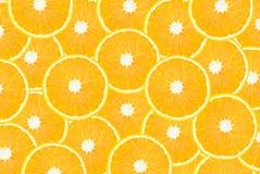 orange skivor arkivfoto