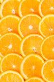 orange skivor Royaltyfri Foto