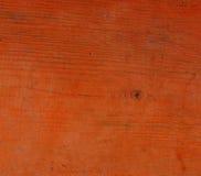 Orange skrivbord Fotografering för Bildbyråer