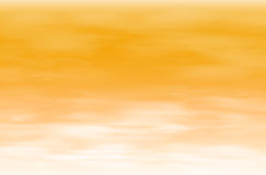 Orange sky background Stock Images